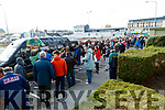 Crowds queing for tickets before the Semi Final of the Kerry Senior Football Championship between Dingle and East Kerry at Austin Stack Park on Sunday.