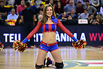 Turkish Airlines Euroleague 2016/2017.<br /> Regular Season - Round 22.<br /> FC Barcelona Lassa vs Galatasaray Odeabank Istanbul: 62-69.<br /> Dream Cheers.