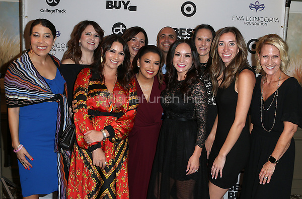 LOS ANGELES, CA - NOVEMBER 8: Eva Longoria, Sponsors, at the Eva Longoria Foundation Dinner Gala honoring Zoe Saldana and Gina Rodriguez at The Four Seasons Beverly Hills in Los Angeles, California on November 8, 2018. Credit: Faye Sadou/MediaPunch