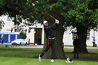 Christian Aronsen (NOR) on the 10th tee during Round 2 of the Bridgestone Challenge 2017 at the Luton Hoo Hotel Golf &amp; Spa, Luton, Bedfordshire, England. 08/09/2017<br /> Picture: Golffile | Thos Caffrey<br /> <br /> <br /> All photo usage must carry mandatory copyright credit     (&copy; Golffile | Thos Caffrey)