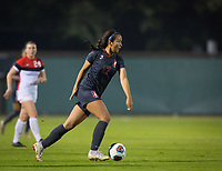 STANFORD, CA - November 9, 2018: Sam Hiatt at Laird Q. Cagan Stadium. The top seeded Stanford Cardinal defeated the Seattle Redhawks 3-0 in the opening round of the NCAA tournament.