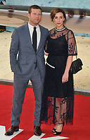 Dermot O'Leary and Dee Koppang at the &quot;Dunkirk&quot; world film premiere, Odeon Leicester Square cinema, Leicester Square, London, England, UK, on Thursday 13 July 2017.<br /> CAP/CAN<br /> &copy;CAN/Capital Pictures /MediaPunch ***NORTH AND SOUTH AMERICAS ONLY***