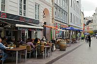 Große Straße in Flensburg, Schleswig-Holstein, Deutschland