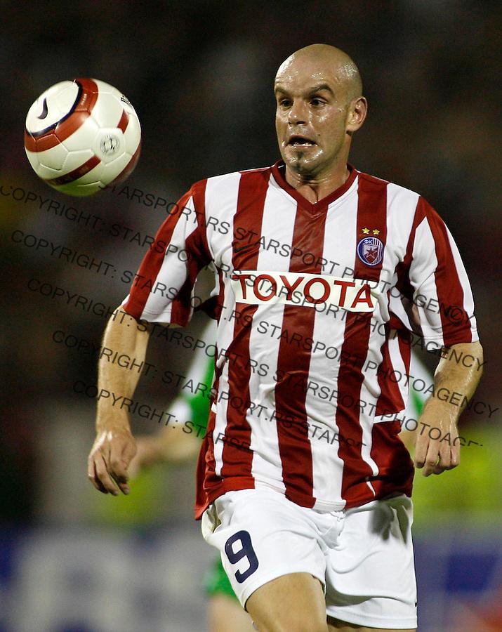 Fudbal, Champions league Second qualifying round, season 2006/07&amp;#xA;Crvena Zvezda-Cork (Ireland)&amp;#xA;Dusan Djokic&amp;#xA;Beograd, 02.08.2006.&amp;#xA;foto: SRDJAN STEVANOVIC<br />