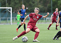 Lorene Martin of Racing Genk pictured during a female soccer game between Club Brugge Dames YLA and Racing Genk Ladies on the second matchday of the 2020 - 2021 season of Belgian Scooore Women s SuperLeague , saturday 5 th of September 2020  in Brugge , Belgium . PHOTO SPORTPIX.BE   SPP   DAVID CATRY