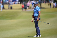 Charl Schwartzel (RSA) nearly chips in on 1 during Round 4 of the Zurich Classic of New Orl, TPC Louisiana, Avondale, Louisiana, USA. 4/29/2018.<br /> Picture: Golffile | Ken Murray<br /> <br /> <br /> All photo usage must carry mandatory copyright credit (&copy; Golffile | Ken Murray)