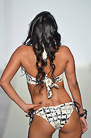 Wet Couture Swimwear by Angelina Petraglia Fashion Show at Funkshion Fashion Week Miami Beach 2012 at The Moore Building on March 16, 2012