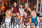 Born to Run Ladies Night Out  at the Stone house on Saturday  Front l-r Melissa Ryan, Michelle Dempsey, Sarah Birmingham, Treassa Brown.  Back l-r Orla Brosnan, Sinead Kavanagh, Maeve Horgan.