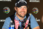 Ryan Moore (USA) in the interview room at the end of  Day 3 of the Accenture Match Play Championship from The Ritz-Carlton Golf Club, Dove Mountain, Friday 25th February 2011. (Photo Eoin Clarke/golffile.ie)