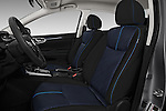Front seat view of 2017 Nissan Sentra SR 4 Door Sedan Front Seat  car photos