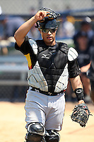 March 31, 2010:  Catcher Ramon Cabrera of the Pittsburgh Pirates organization during Spring Training at the Yankees Training Complex in Tampa, FL.  Photo By Mike Janes/Four Seam Images