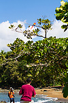 The Corcovado Nature Preserve on the Osa Peninsula of Costa Rica, Central America