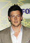 Cory Monteith of Glee at 2012 Fox All Star Party