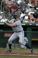 September 15, 2004:  Mike Hessman of the Richmond Braves, Triple-A International League affiliate of the Atlanta Braves, during a game at Dunn Tire Park in Buffalo, NY.  Photo by:  Mike Janes/Four Seam Images