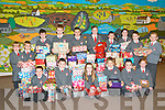 Shoe Boxes for Team Hope: Pupils from Dromclough NS, Listowel pictured with the shoe boxes they have collected for Team Hope for children in Eastern Europe & Africa. Front : Ciaran Counihan, Brian Enright, Mrgan Lynch, Sebastin Zyla, Eva Linnane & Maeve Quilter. Back : Sarah Murphy, Nathan Guerin, Mikey Kelliher, Aidan moloney, Liam Guiney, Caragh Kelly, Michael Hickey, Rachel Dillon, Darragh Mulvihill & Gavin O'Sullivan.