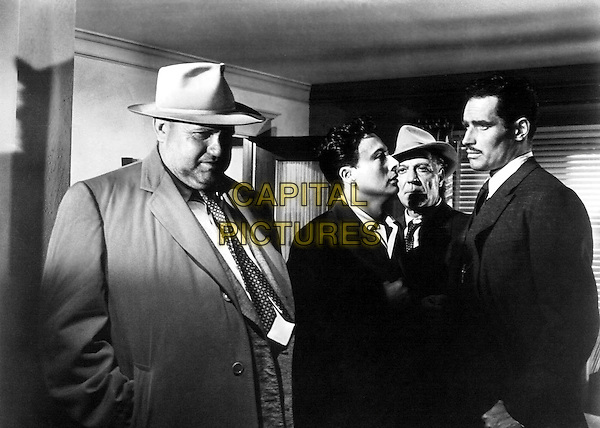 Orson Welles & Charlton Heston.in Touch of Evil.*Filmstill - Editorial Use Only*.CAP/PLF.Supplied by Capital Pictures.