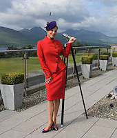 WEEKEND FASHION: Joanne O'Connor's models some Killarney fashion designs at the Aghadoe Heights Hotel, Killarney.<br /> Picture by Don MacMonagle<br /> <br /> Story by Bairbre Power