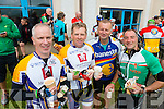 Maurice Hannifin, Michael Ryle, Neilus Daly Tralee and Patrick Dillane Blennerville in Caherciveen at the Ring of Kerry cycle on Saturday.
