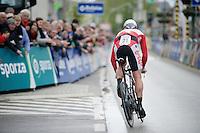 Tour of Belgium 2013.stage 3: iTT..André Greipel (DEU) off the start podium