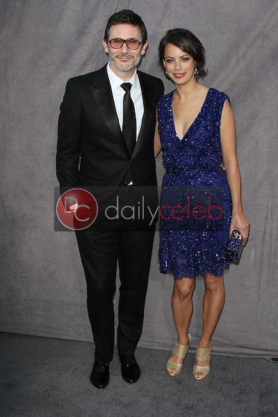 Michel Hazanavicius, Berenice Bejo<br /> at the 17th Annual Critics' Choice Movie Awards, Palladium, Hollywood, CA  01-12-12<br /> David Edwards/DailyCeleb.com 818-249-4998