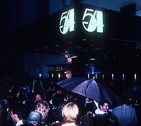 New York City<br /> 1978 FILE PHOTO<br /> Studio 54<br /> Photo by Adam Scull-PHOTOlink.net