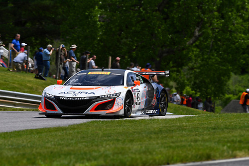 Pirelli World Challenge<br /> Grand Prix of Lime Rock Park<br /> Lime Rock Park, Lakeville, CT USA<br /> Saturday 27 May 2017<br /> Ryan Eversley / Tom Dyer<br /> World Copyright: Richard Dole/LAT Images<br /> ref: Digital Image RD_LMP_PWC_17142