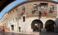 Hotel de Ville. Perpignan, Roussillon, France.
