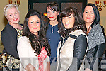Elaine and Jessica O'Loughlin, Sheena Healy and Norissa and Kathleen O'Donoghue at the 'Sport Stars on Catwalk for School Fashion' fundraising event in Darby O'Gills in Killarney last Saturday night with all funds raised going to Barraduff National School.