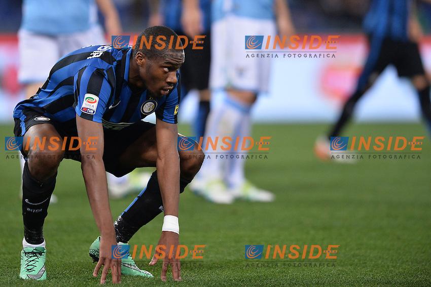 Geoffrey Kondogbia Inter.<br /> Roma 1-05-2016  Stadio Olimpico<br /> Campionato Serie A,<br /> Lazio - Inter.<br /> Foto Antonietta Baldassarre / Insidefoto