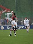 Sandhausen 19.04.2008, Stefan Leitl (Ingolstadt) und Alberto Mendez (SV Sandhausen) in der Regionalliga S&uuml;d 2007/08 SV Sandhausen 1916 - FC Ingolstadt 04<br /> <br /> Foto &copy; Rhein-Neckar-Picture *** Foto ist honorarpflichtig! *** Auf Anfrage in h&ouml;herer Qualit&auml;t/Aufl&ouml;sung. Belegexemplar erbeten.
