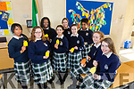 To Mark Mental Health Week Presentation have put up the One Good Adult Tree  Pictured front l-r Ava Kelliher, Lauren O'Sullivan, Back Precious Dike, Áine O'sullivan, whitney Osayanihion, Sally Lenihan, Eimear Brosnan, Roisin Buckley, Precious Benjamin