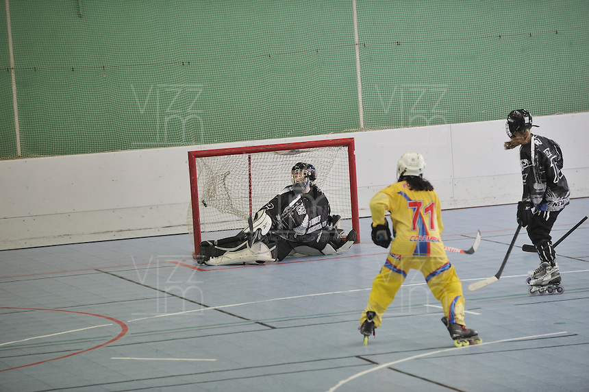 TOULOUSE - FRANCIA: Se realizan en Toulouse Francia los Campeonatos Mundiales de Hockey en Linea en las modalidades de Junior Varones, Damas Mayores, Juvenil Damas y Mayores Varones, con la participación de 24 paises, del 30 de junio al 13 de julio. <br /> Performed in Toulouse France Hockey World Championships Online in the categories of Junior Men, Senior Women, Junior Men and Senior Ladies, with the participation of 24 countries, from 30 June to 13 July. Photos: VizzorImage / Luis Ramirez / Staff.