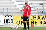 02 April 2016: Minnesota goalkeeping coach Paul O'Connor (ENG). The Carolina RailHawks hosted Minnesota United FC at WakeMed Stadium in Cary, North Carolina in a 2016 North American Soccer League Spring Season game. Carolina won the game 2-1.