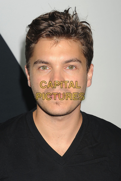 Emile Hirsch<br /> &quot;Star Trek Into Darkness&quot; DVD/Blu-Ray Release held at the California Science Center, Los Angeles, California, USA.<br /> September 10th, 2013<br /> headshot portrait stubble facial hair black <br /> CAP/ROT/TM<br /> &copy;Tony Michaels/Roth Stock/Capital Pictures