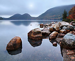 ....... And All Is Well With The World, ....... Jordan Pond In Autumn, Acadia National Park, Maine