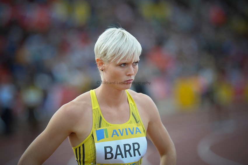 Photo: Ady Kerry/Richard Lane Photography..Aviva British Grand Prix. 31/08/2009. .Vicky Barr 400m