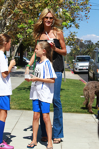 September 13 2014 Beverly Hills California Heidi Klum and Family out and about enjoying icecream and a walk on a sunny day in Beverly Hills John Misa / MediaPunch