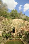 Israel, Jerusalem mountains, Ein Bikura in Sataf