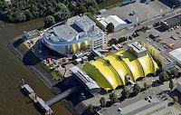Neues Musical Theater Hamburg: EUROPA, DEUTSCHLAND, HAMBURG, (EUROPE, GERMANY), 06.09.2013 Neues Musical Theater Hamburg. Die Stage Entertainment GmbH  mit Sitz in Hamburg ist Veranstalter mehrerer Shows und Musicals, betreibt verschiedene Theater und unterhaelt Kooperationen mit anderen Unternehmen der Event-Branche. Sie gehoert zur niederlaendischen Stage Entertainment mit Sitz in Amsterdam.<br /> Der Geschaeftsfuehrer der deutschen Niederlassung ist seit September 2008 Johannes Mock-O'Hara. Im Oktober 2011 fand der Baubeginn fuer ein weiteres Musicaltheater in Hamburg statt, das sich genau neben dem Theater im Hafen Hamburg befinden wird, die Eroeffnung ist f&uuml;r 2014 vorgesehen.