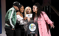 12 September 2018 - Los Angeles, California - Kane Brown, Normani, Bebe Rexha, Ella Mai. '2018 American Music Awards' Nominations Announcement held at the YouTube Space LA. <br /> CAP/ADM/BT<br /> ©BT/ADM/Capital Pictures