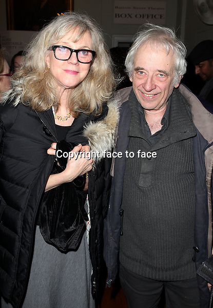 """Blythe Danner & Austin Pendleton attending the New York Premiere of the Opening Night Performance of """"Hit The Wall"""" at the Barrow Street Theatre in New York City on 3/10/2013...Credit: McBride/face to face"""