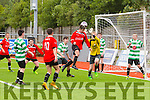 Action from Denny Youths Final Killarney Celtic v Park FC at Mounthawk Park on Sunday
