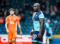 Adebayo Akinfenwa of Wycombe Wanderers during the Sky Bet League 2 match between Wycombe Wanderers and Blackpool at Adams Park, High Wycombe, England on the 11th March 2017. Photo by Liam McAvoy.