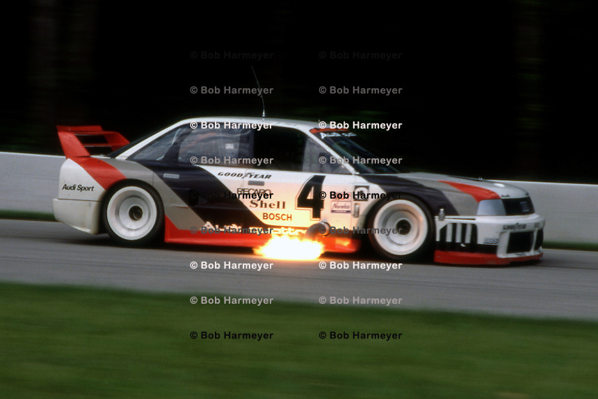 Hans Stuck 1989 Imsa Mid Ohio Bob Harmeyer