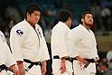 (L to R) Daiki Kamikawa (JPN), Kazuhiko Takahashi (JPN), April 29, 2012 - Judo: 2012 All Japan Judo Championships, Closing Ceremony at Nihon Budokan, Tokyo, Japan. (Photo by Daiju Kitamura/AFLO SPORT) [1045]