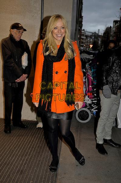 LONDON, UK DECEMBER 18: Liz McClarnon at BBC Radio 1 on December 18th 2013 London, England, UK.<br /> CAP/IA<br /> &copy;Ian Allis/Capital Pictures