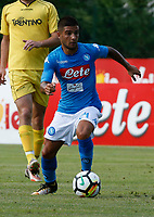 Lorenzo Insigne  of Napoli  during a preseason friendly soccer match against Aunania in Dimaro's Stadium   12 July 2017  .it