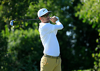Dylan Frittelli (RSA) during the second round of The Northern Trust, Liberty National Golf Club, Jersey City, New Jersey, USA. 09/08/2019.<br /> Picture Michael Cohen / Golffile.ie<br /> <br /> All photo usage must carry mandatory copyright credit (© Golffile | Michael Cohen)