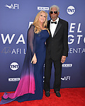 Morgan Freeman, Lori McCreary 098 attends the American Film Institute's 47th Life Achievement Award Gala Tribute To Denzel Washington at Dolby Theatre on June 6, 2019 in Hollywood, California