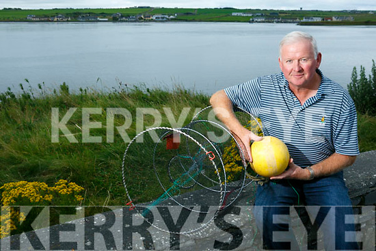 A float from a crab pot went missing 2 years ago from the Cashen, Ballybunion, and recently turned up in Norway. Pictured Donal Liston